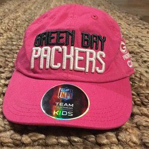 Infant girl Green Bay Packer hat